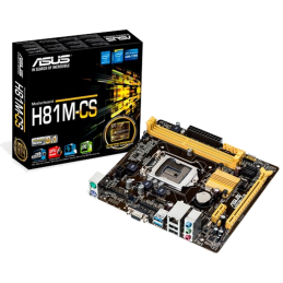 MB LGA1150 ASUS H81M-CS (DDR3)
