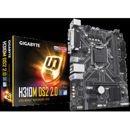 MB LGA1151V2 GIGABYTE H310M DS2 2.0 (DDR4)