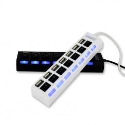 USB HUB 7 PORT + SWITCH SUPPORT 500GB 2.0