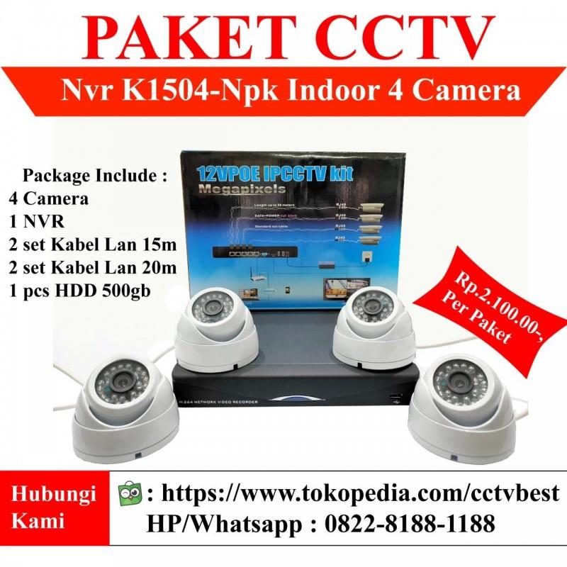 PAKET CCTV 4 Kamera Analog Lengkap
