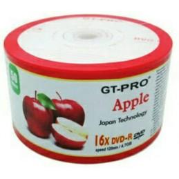 DVD-R GT PRO APPLE (50 PCS)