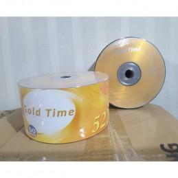 CD R GOTECH / GOLD TIME (50 PCS)