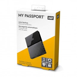 HDD EXT WD MY PASSPORT 1TB BLACK