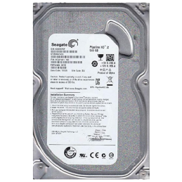 HDD Seagate 500GB (ST500DM002) Old logo