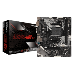 MB AM4 ASROCK A320M-HDV R4.0 (DDR4)