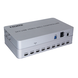 HDMI 2x2 4k Video Wall Controller