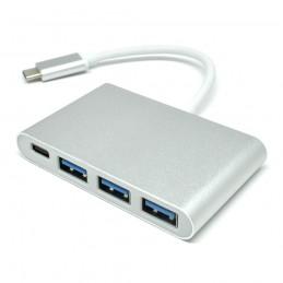 CONVERTER USB TYPE-C TO USB 3.0 3PORT, TYPE C