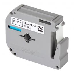 TAPES 12MM BLACK ON WHITE FOR PT-M95