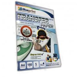 BLUEPRINT A4 160gsm TRANSFER PAPER ( kaos putih )