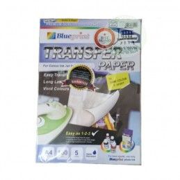 BLUEPRINT A4 160gsm TRANSFER PAPER DARK ( kaos hitam )