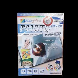 BLUEPRINT A4 210um PHOTO PAPER ( anggrek )
