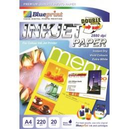 BLUEPRINT A4 220gsm DS INKJET PAPER