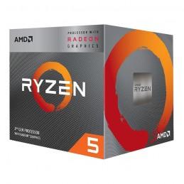 CPU AMD Ryzen 5-3400G (3,7Hhz up to 4,20Ghz, 6MB Cache) BOX