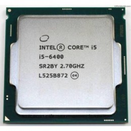 CPU Intel Core I5-6400 (2,70GHz up to 3,3GHz, 6M Cache)