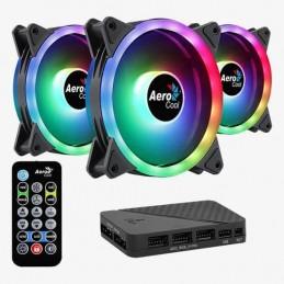 Fan Casing Aerocool Duo ARGB 3 in 1 Duo 12cm + H66F