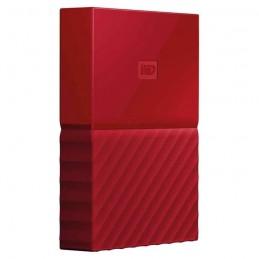 HDD External WD My Passport New 4TB Red