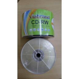 CD RW Viabrand (ISI 50 PCS)