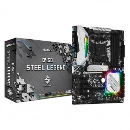 MB AM4 Asrock B450 Steel Legend (DDR4)