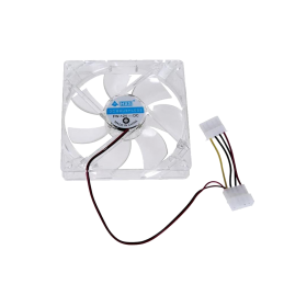 Fan casing lampu 8cm transparan