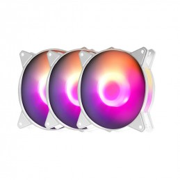 Fan Casing Darkflash C6MS White Aurora Spectrum RGB