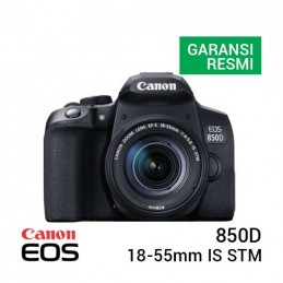 Camera Canon EOS 850D Kit 18-55mm IS STM