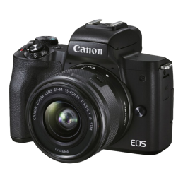 Camera Canon EOS M50 Mark II Kit 15-45mm Black