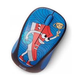 Mouse Wireless Logitech M238 Sneaker Head