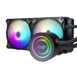 Fan Processor Liquid Cooler Darkflash Twister ARGB DX-240 Black