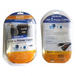USB TO PARALEL PRINTER CABLE BAFO [BF-1284]