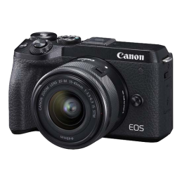 Camera Canon Canon EOS M6 II Kit EF-M 15-45mm F/3.5-6.3 IS STM Black
