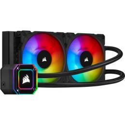Fan Processor Corsair Icue H100i Elite Capellix RGB