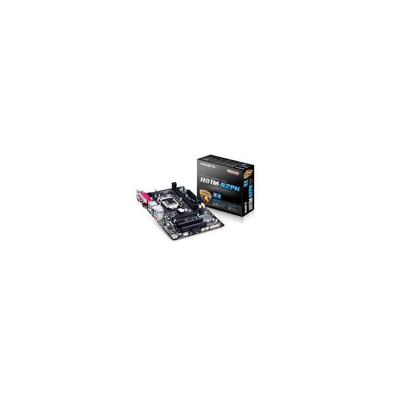 MB LGA1150 Gigabyte H81M-S2H (DDR3)