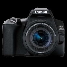 Camera Canon EOS 200D Mark II Kit EF-S 18-55mm IS STM Black
