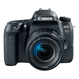 Camera Canon EOS 77D Kit EF-S 18-55 IS STM