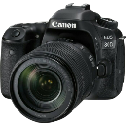 Canon Canon EOS 80D Kit EF-S 18-135mm IS STM